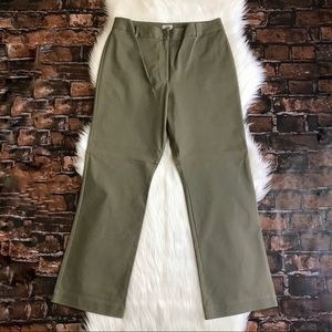 Chico's Two Way Morgan Pant Size 2 Taupe Career